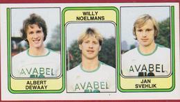 Panini 83 Football Voetbal Belgie 1983 Sticker Nr 390 Sporting Hasselt Albert Dewaay Willy Noelmans Jan Svehlik - Sport