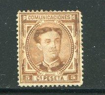 ESPAGNE- Y&T N°163- Oblitéré - 1875-1882 Königreich: Alphonse XII.