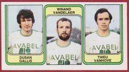 Panini 83 Football Voetbal Belgie 1983 Sticker Nr 391 Sporting Hasselt Dusan Gallis Winand Vandelaer Thieu Vanhove - Sport