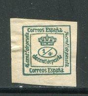 ESPAGNE- Y&T N°172c)- Neuf Avec Charnière * - 1875-1882 Regno: Alfonso XII