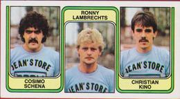 Panini 83 Football Voetbal Belgie 1983 Sticker Nr 395 La Louviere Cosimo Schena Ronny Lambrechts Christian Kino - Sport