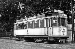 PHOTO  TRAM HERBESTHAL EUPEN REPRO - Tramways