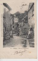CPA Précurseur Bergerac - Rue De La Fonbalquine (avec Animation) - Bergerac