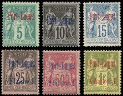 * PORT-LAGOS 1/6 : Série Sage De 1893, TB - Puerto Lagos (1893-1931)