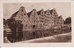 2638189Lübeck, Alte Salzspeicher An Der Trave 1923 - Luebeck