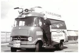 """TOUR DE FRANCE   CARAVANE PUBLICITAIRE  1966     """"PARIS-RHONE""""  Aspirateur Et Cireuse - Cyclisme"""
