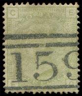 (*) GRANDE BRETAGNE 59 : 4p. Vert-olive, Nuance Pâle, Obl. 159, TB - 1840-1901 (Viktoria)