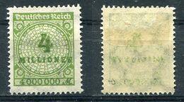 D. Reich Michel-Nr. 316P Ungebraucht - Geprüft - Ungebraucht