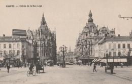 **** ANVERS  *** ANVERS   Entrée De La Rue Leys  - Précurseur Neuf Excellent état - Antwerpen