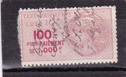 T.F Taxe De Luxe N°25 A - Fiscaux