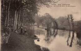 Dep 29 , Cpa  PONT AVEN , 3116 , Les Bords De L'Aven Au Bois D'Amour (20071) - Pont Aven