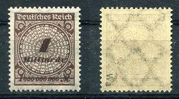 Deutsches Reich Michel-Nr. 325Wa Postfrisch - Geprüft - Unused Stamps