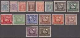 1922. Ostoberschlesien. Regular Issue Complete Set. Hinged. (Michel 1-16) - JF360682 - Silesia (Lower And Upper)