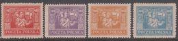1923. Ostoberschlesien. Regular Issue Complete Set. Hinged. (Michel 17-20) - JF360683 - Silesia (Lower And Upper)