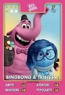 TCG - HEROS DISNEY PIXAR - 007 - Bing Bong & Tristesse - Vice Versa - Disney