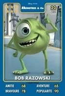 TCG - HEROS DISNEY PIXAR - 020 - Bob Razowski - Monstres & Cie - Disney