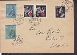 Brief Böhmen Und Mähren 1944 - Germany