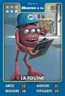 TCG - HEROS DISNEY PIXAR - 024 - La Fouine - Monstres & Cie - Disney