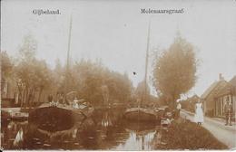 Molenaarsgraaf Gijbeland Gelopen 10-7-1915 Bestellersstempel - Pays-Bas