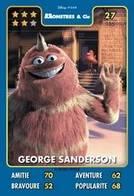 TCG - HEROS DISNEY PIXAR - 027 - George Sanderson - Monstres & Cie - Disney