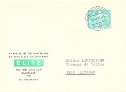 """Motiv Karte  """"Elite, Fabrique De Matelas/Sac De Couchage, Aubonne""""            1965 - Covers & Documents"""