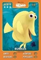 TCG - HEROS DISNEY PIXAR - 050 - Bubbles - Le Monde De Némo - Disney