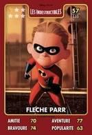 TCG - HEROS DISNEY PIXAR - 057 - Fleche Parr - Les Indestructibles - Disney