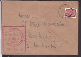 Brief Generalgouvernement Stempel Krakau 1941 - Germany