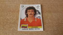 Figurina Panini WM Italia 90 - 293 Hoyos Colombia - Panini