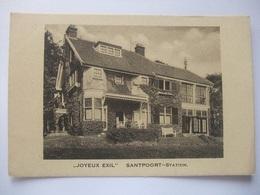 T50 Ansichtkaart Santpoort - Joyeux Exil - Niederlande