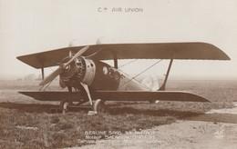 Cie Air Union - Berline Spad 33 Blériot - Moteur Salmson - Service Paris - Lyon - Marseille - Genève - 1919-1938: Between Wars