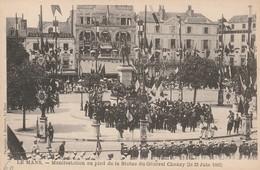 Le Mans - Manifestation Au Pied De La Statue Du Général Chanzy (23 Juin 1902) - Le Mans