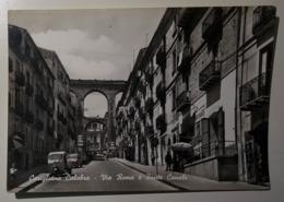 Corigliano Calabro - Via Roma E Ponte Canale - Viaggiata - Ape Piaggio, Apecar - Italy