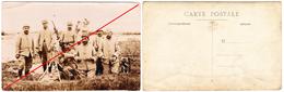 Photo Mitrailleurs, Hotchkiss, 1915, 109ème RIT Territorial - Oorlog, Militair
