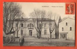 ZAB-07  Ribérac  Palais De Justice ANIME. Cachet Frontal En 1917 - Riberac