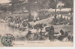 CPA Aurillac - Les Laveuses (très Belle Scène) - Aurillac
