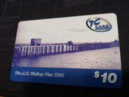 St MAARTEN $10 - ST MAARTEN  THE AC WATHEY PIER 1964   Used Card   ** 1781 ** - Antilles (Netherlands)