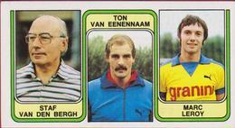 Panini Football 83 Voetbal Belgie 1983 Sticker Nr. 413 Sint St-Niklaas Staf Van Den Bergh Ton Van Eenennaam Marc Leroy - Sport