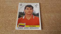 Figurina Panini WM Italia 90 - 303 Hernandez Colombia - Panini