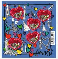 France Frankreich 2010 Yvert No. BF 129 **, Michel Kleinbogen 5x 4798 II **, Valentinstag, Saint Valentin Coeurs - Ungebraucht