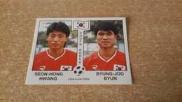 Figurina Panini WM Italia 90 - 324 Hwang/Byun Sud Corea - Panini