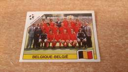 Figurina Panini WM Italia 90 - 328 Team Belgio - Panini