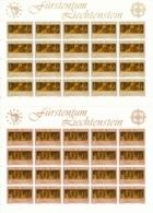Zumstein 805-806 / Michel 866-867 Bogen-Serie Einwandfrei Postfrisch/** - Blocks & Kleinbögen