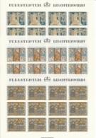 Zumstein 676-678 / Michel 738-740 Bogen-Serie Einwandfrei Postfrisch/** - Blocks & Kleinbögen