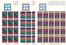 Zumstein 699-701 / Michel 761-763 Bogen-Serie Einwandfrei Postfrisch/** - Blocks & Kleinbögen