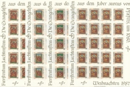 Zumstein 870-873 / Michel 930-933 Bogen-Serie Einwandfrei Postfrisch/** - Blocks & Sheetlets & Panes
