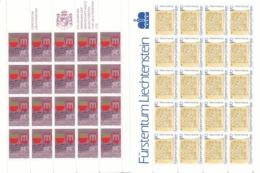 Zumstein 868-869 / Michel 928-929 Bogen-Serie Einwandfrei Postfrisch/** - Blocks & Sheetlets & Panes