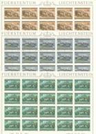 Zumstein 807-809 / Michel 868-870 Bogen-Serie Einwandfrei Postfrisch/** - Blocks & Sheetlets & Panes