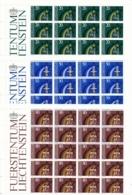 Zumstein 770-772 / Michel 831-833 Bogen-Serie Einwandfrei Postfrisch/** - Blocks & Sheetlets & Panes
