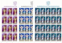 Zumstein 850-852 / Michel 910-912 Bogen-Serie Einwandfrei Postfrisch/** - Blocks & Sheetlets & Panes